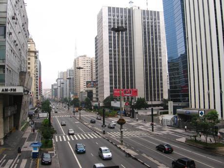 Avenue Paulista before project