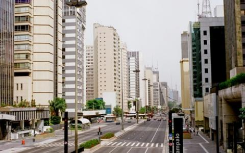 Overview of Avenue Paulista